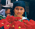 Ecuador_girl_Flowers