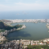 View of Rio from Christ The Redeemer. Photo by Freyja Ellis