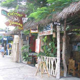 The Sidewalk in front of the