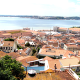 Lisbon as seen from Sao Jorge castle