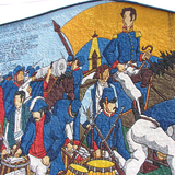 Mural dedicated to Sucre