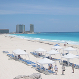 Cancun beach. Photo by Stephany Slaughter.