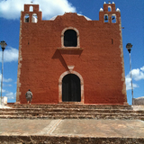 Santa Elena - Church of San Mateo exterior