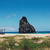 Beach, Fernando de Noronha. Photo by Sandy Guy.