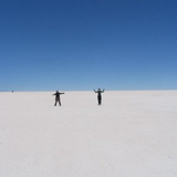 Bolivian Salt Flats. Photo by Michelle Hopey