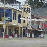 the main street in Puerto López