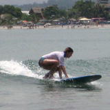 Surfing in Mompiche