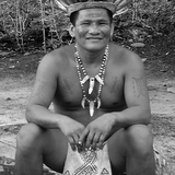 Chief of Baraçana village. Photo by Sandra Scott.
