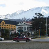 Downtown Ushuaia. Photo by Lorraine Caputo