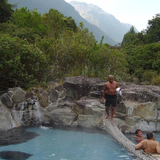 The natural hot springs in Papallacta