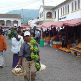 The Otavalo food market