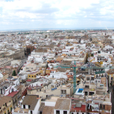 Sevilla as seen from Giralda tower